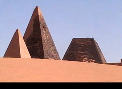 The Nubian Pyramids of Meroe